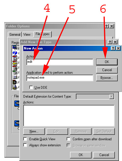 Setting NOTEPAD as your offline OmniTurn editor