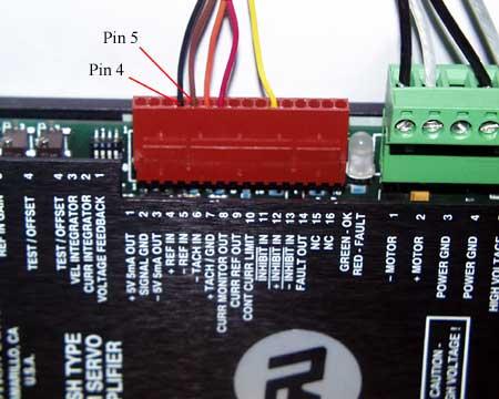 Adjusting AMC Servo Amps