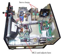 Adjusting OmniTurn Servo Amps